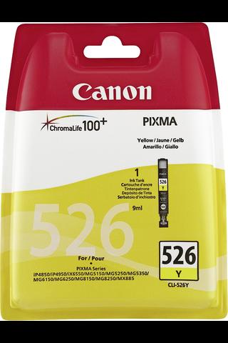 Canon CLI-526 mustepatruuna keltainen