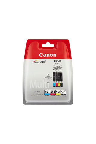Canon CLI-551 C/M/Y/BK väripatruuna