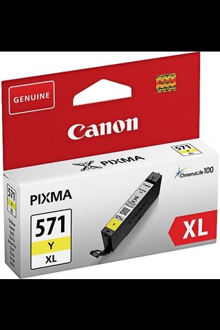 Canon CLI-571XL mustesäiliö keltainen