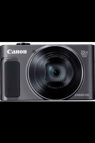 Canon Powershot SX620 Essential Kit HS kamera musta