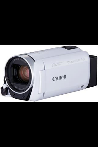 Canon Legria HFR806 Essential Kit videokamera valkoinen