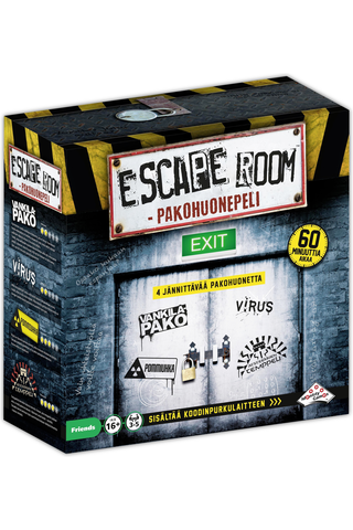 Pakohuonepeli Escape Room