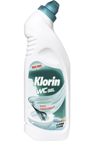 Klorin WC Gel Alpine Fresh WC-puhdistusaine 750ml