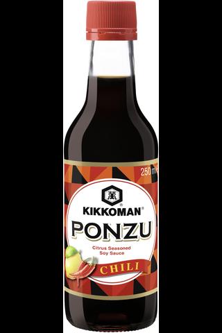 Kikkoman 250ml Ponzu sitruuna-chili -soijakastike
