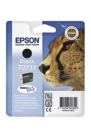 Epson T0711 mustepatruuna musta