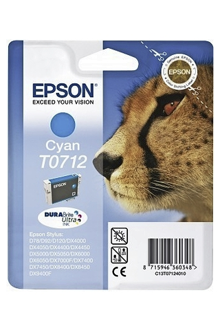 Epson T0712 mustepatruuna syaani
