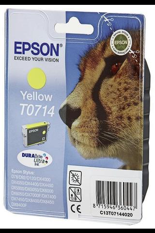 Epson T0714 mustepatruuna keltainen