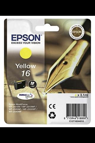 Epson 16 mustepatruuna keltainen