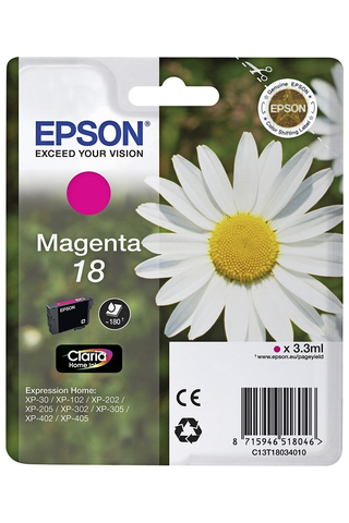 Epson 18 mustepatruuna magenta