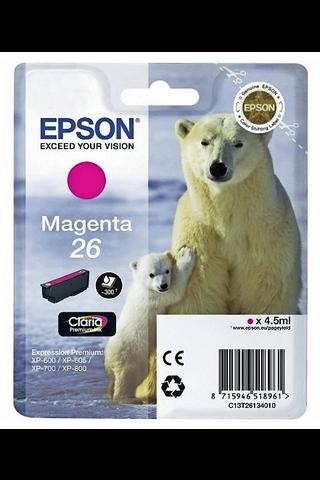 Epson 26 mustepatruuna magenta