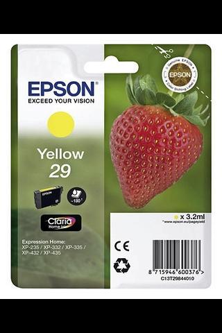 Epson 29 mustepatruuna keltainen