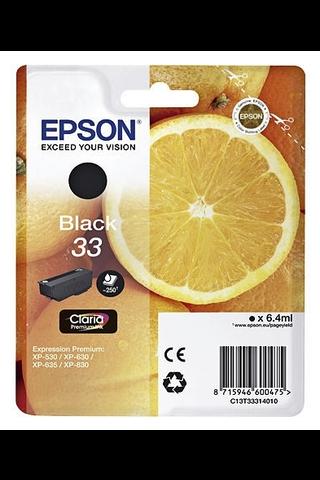 Epson 33 mustepatruuna musta