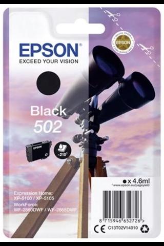 Epson 502 mustepatruuna musta