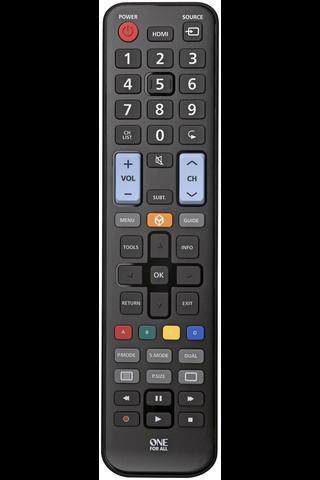 One For All URC1910 Samsung TV-yleiskaukosäädin