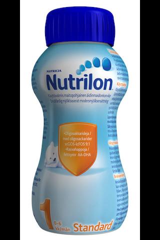 Nutrilon Standard 1 200ml käyttövalmis äidinmaidonkorvike 0-6kk