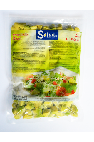 Salud 500g  Avocado kuutiot