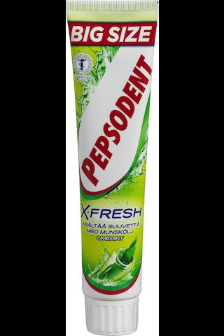 Pepsodent 125ml X-Fresh Limemint hammastahna