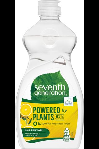 Seventh Generation Tiskiaine Fresh Citrus & Ginger Scent 500 ml