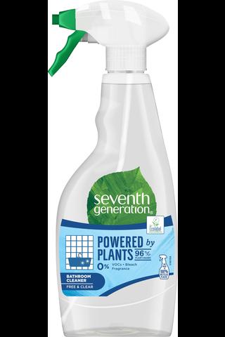 Seventh Generation 500ml Free & Clear kylpyhuoneen puhdistusaine