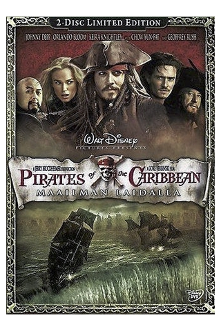 Dvd Pirates Of The Car 3