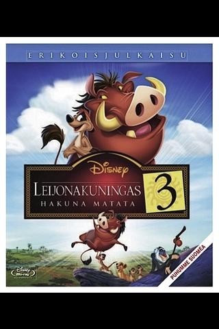 Blu-ray Leijonakuningas 3: Hakuna Matata