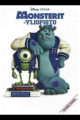DVD Monsterit-yliopisto