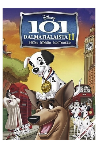 Dvd 101 Dalmatialaista 2