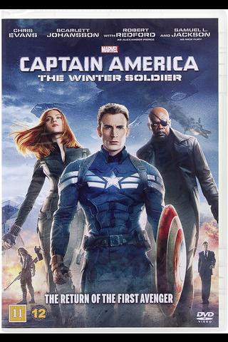 Dvd Captain America Wint