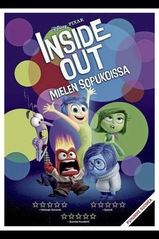 DVD Inside Out - Mielen Sopukoissa
