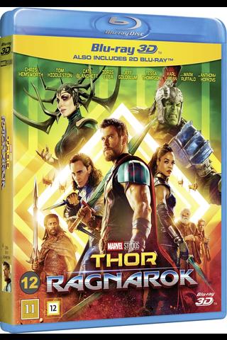 3D Thor Ragnarok