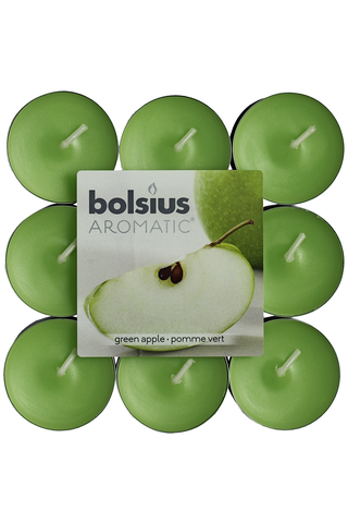 Bolsius pck18 green apple Tealigh with scent