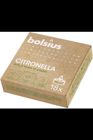 Bolsius tuoksulämpökynttilä Mission Green