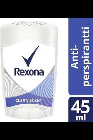 Rexona 45ml Maximum Protection Clean Scent deodorantti stick