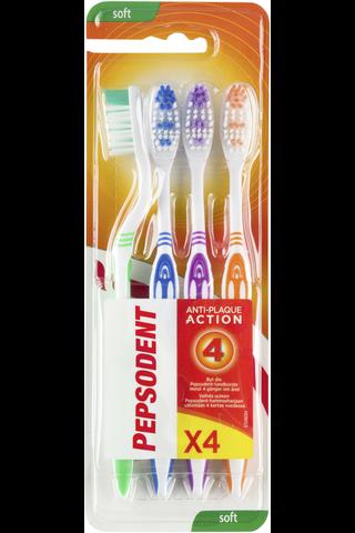 Pepsodent hammasharja soft 4-pack