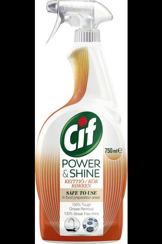 Cif 750ml Power & Shine keittiösuihke