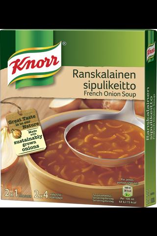 Knorr 2x52g Ranskalainen sipulikeitto keittoainekset