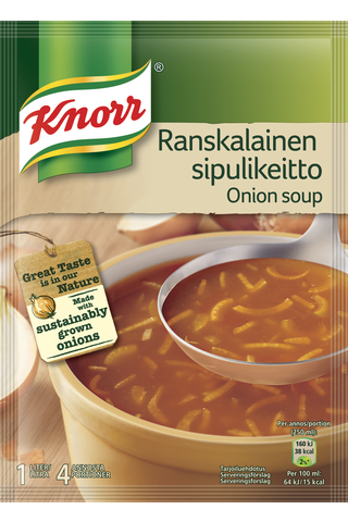 Knorr Keittoaines Ranskalainen sipulikeitto 52g