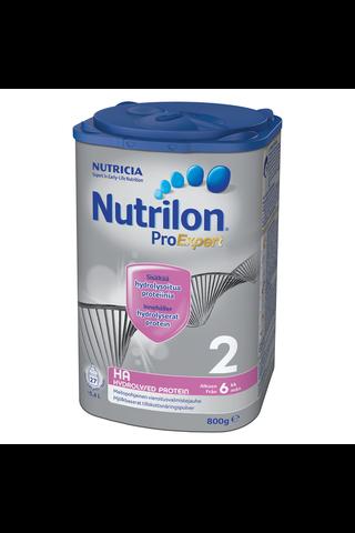 Nutricia Nutrilon 800g ProExpert HA 2 maitopohjainen vieroitusvalmistejauhe 6kk alkaen