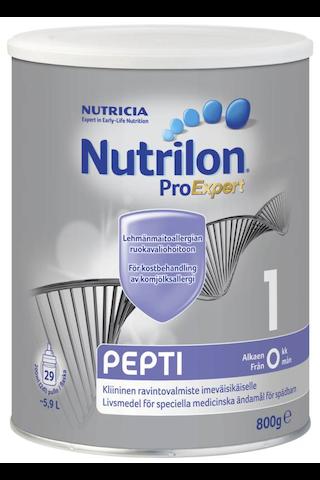 Nutricia Nutrilon Pepti 1 800g kliininen ravintovalmiste imeväisikäiselle jauhe alk 0 kk