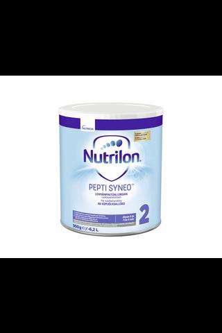 Nutrilon Pepti Syneo 2 900 g, kliininen ravintovalmiste lehmänmaitoallergian ruokavaliohoitoon, alkaen 6kk