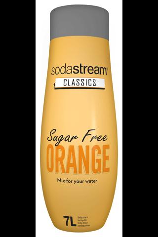 SodaStream 440ml Orange Sugar Free makutiiviste