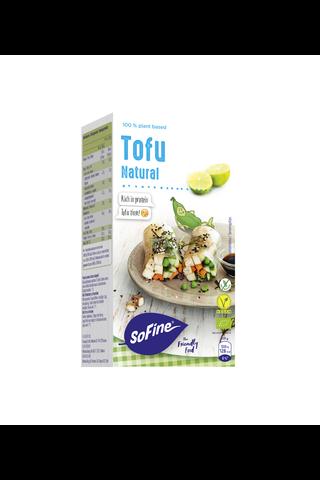 SoFine 250g tofu maustamaton luomu