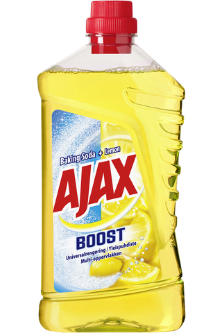 Ajax Boost Baking Soda & Lemon yleispuhdistusaine 1000ml
