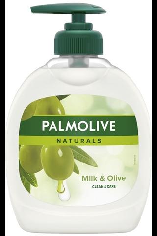 Palmolive Naturals Olive & Milk nestesaippua 300ml