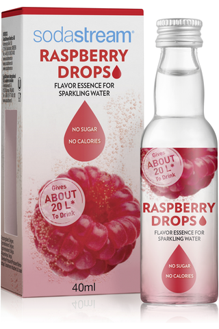 SodaStream 40ml Raspberry Drops makuaromi