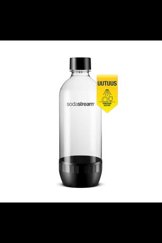 SodaStream DWS juomapullo 1l  musta