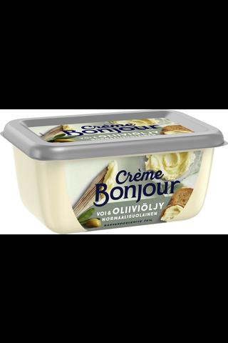 Crème Bonjour 400g Voi & OliiviöljyNormaalisuolainen rasvaseos