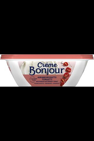 Crème Bonjour 200g Aurinkokuivattu Tomaatti tuorejuusto laktoositon