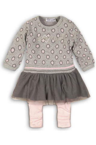 Dirkje vauvojen mekko+leggingsit B32208