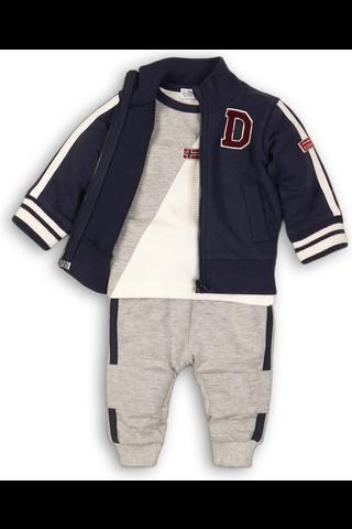 Dirkje vauvojen collegetakki+housut+paita B32452